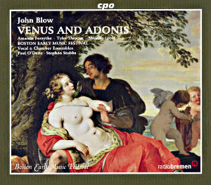 John Blow Venus and Adonis / cpo