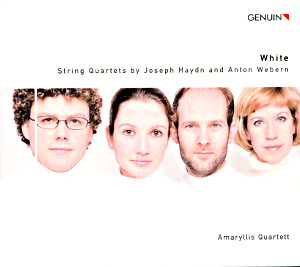 White, Strings Quartets by Joseph Haydn and Anton Webern / Genuin