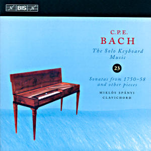 C.P.E. Bach, Solo Keyboard Music Vol. 23 / BIS