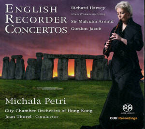 English Recorder Concertos / OUR Recordings