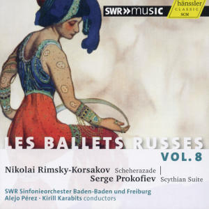Diaghilev, Les Ballets Russes Vol. VIII / SWRmusic