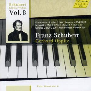 Franz Schubert Piano Works Vol. 8 / hänssler CLASSIC