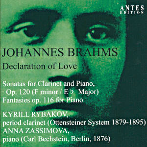 Johannes Brahms Declaration of Love / Antes