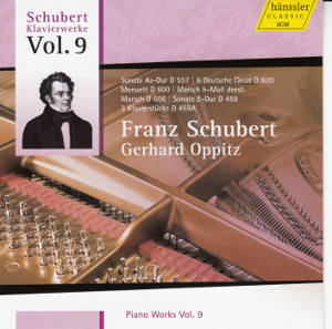 Franz Schubert Piano Works Vol. 9 / hänssler CLASSIC