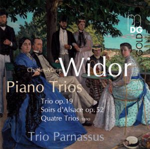 Charles-Marie Widor Complete Piano Trios / MDG
