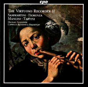 The Virtuoso Recorder II Concertos of the Italian Baroque / cpo