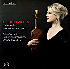 The Red Violin Concertos by Corigliano & Kuusisto / BIS