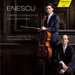 Enescu Complete Works for Cello and Piano / hänssler CLASSIC