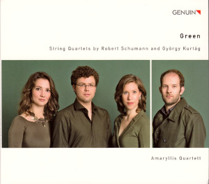 Green, String Quartets by Robert Schumann and György Kurtág / Genuin