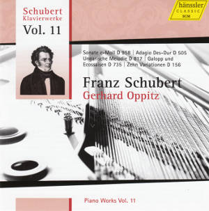 Franz Schubert Piano Works Vol. 11 / hänssler CLASSIC