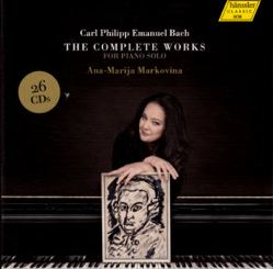 Carl Philipp Emanuel Bach The Complete Works for Piano Solo / hänssler CLASSIC