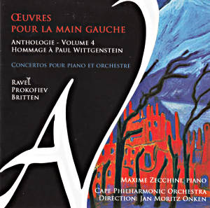 Œuvres pour La Main Gauche Anthology - Volume 4 / Ad Vitam Records
