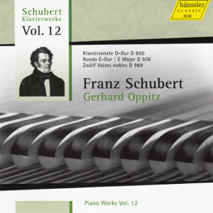 Franz Schubert Piano Works Vol. 12 / hänssler CLASSIC