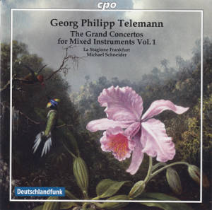 Georg Philipp Telemann The Grand Concertos for Mixed Instruments Vol. 1 / cpo