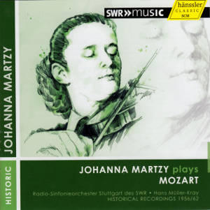 Johanna Martzy plays Mozart / SWRmusic