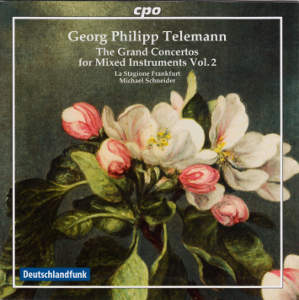 Georg Philipp Telemann The Grand Concertos for mixed instruments Vol. 2 / cpo