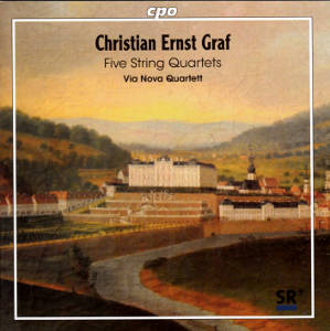 Christian Ernst Graf, Five String Quartets / cpo