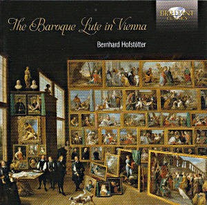 The Baroque Lute in Vienna / Brilliant Classics