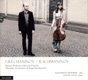Grechaninov • Rachmaninov, Russian Works for Cella and Piano / Kaleidos