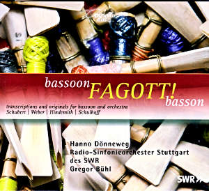 bassoon FAGOTT! bassoon, transcriptions and originals for bassoon and orchestra / Coviello Classics