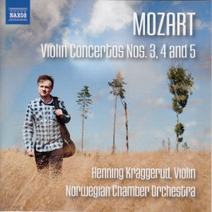 Mozart, Violin concertos Nos. 3, 4 and 5 / Naxos