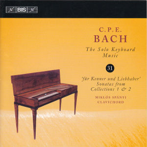 C.P.E. Bach, The Solo Keyboard Music 31 / BIS