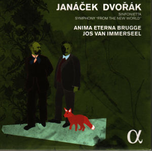 "Janáček • Dvořák, Sinfonietta • Symphony ""From The New World"" / Alpha Classics"