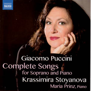 Giacomo Puccini, Complete Songs for Soprano and Piano / Naxos