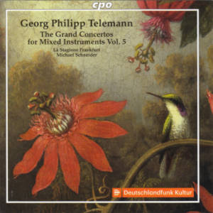 Georg Philipp Telemann, The Grand Concertos for Mixed Instruments Vol. 5 / cpo