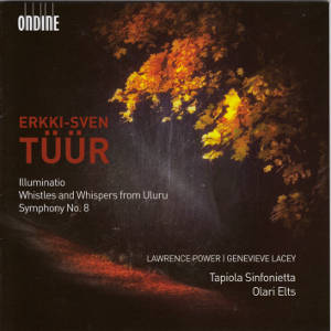 Erkki-Sven Tüür, Illuminatio • Whistles and Whispers from Uluru • Symphony No. 8 / Ondine