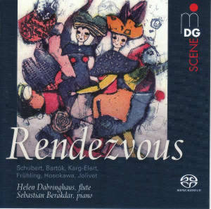 Rendezvous, Music for Flute and Piano / MDG