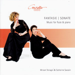 Fantasie | Sonate, Music for flute & piano / Coviello Classics