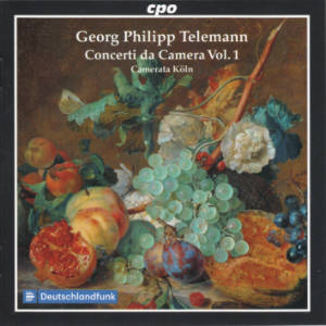 Georg Philipp Telemann, Concerti da Camera Vol. 1 / cpo