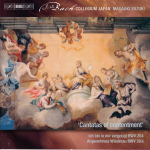 J.S. Bach, Cantatas of contentment / BIS