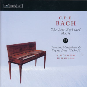 C.P.E. Bach, Solo Keyboard Music Vol. 37 / BIS