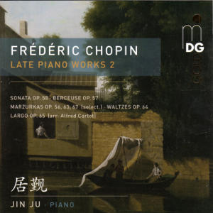 Frédédric Chopin, Late Piano Works Vol. 2 / MDG