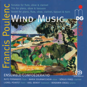 Francis Poulenc, Wind Music / MDG