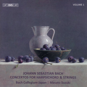 Johann Sebastian Bach, Concertos for Harpsichord and Strings Vol. 1