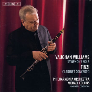 Vaughan Williams • Finzi, Symphony No. 5 • Clarinet Concerto