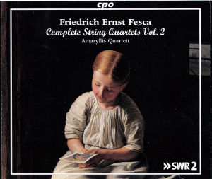 Friedrich Ernst Fesca, String Quartets Vol. 2