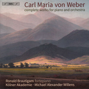 Carl Maria von Weber, complete works for piano and orchestra