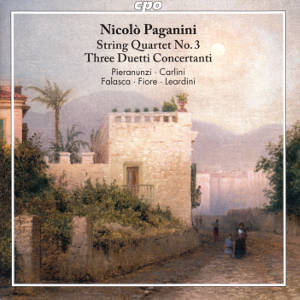 Niccolò Paganini, String Quartet No. 3, Three Duetti Concertanti