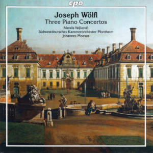 Joseph Wölfl, Three Piano Concertos
