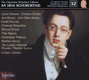 The Hyperion Schubert Edition Vol. 32 - An 1816 Schubertiad / Hyperion