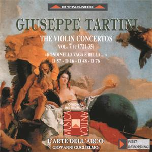 G. Tartini – Violinkonzerte Vol. 7 / Dynamic