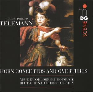 Georg Philipp Telemann, Horn Concerto and Overtures / MD+G
