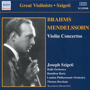 Great Violinists - Szigeti / Naxos