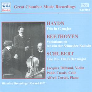 Great Chamber Music Recordings / Naxos