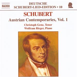 Deutsche Schubert-Lied-Edition 10 Austrian Contemporaries Vol. 1 – Schubert / Naxos