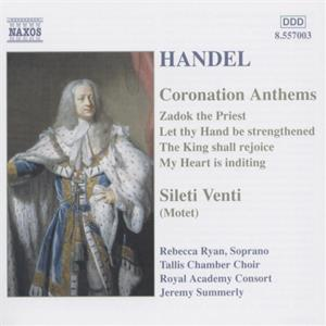 Georg Friedrich Händel Coronation Anthems / Naxos